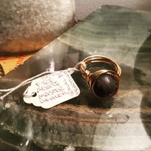 Jewelry - ‼️ONEHOURSALE‼️ Boho style ring agate